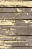 海滩小屋油漆削皮 免版税库存照片