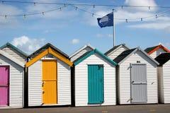 海滩小屋 免版税图库摄影