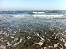 海滩小径码头海运 免版税库存照片