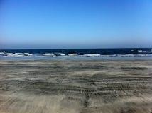 海滩小径码头海运 免版税图库摄影