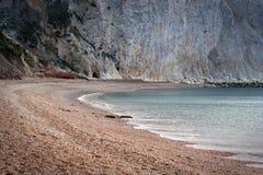 海滩小海湾 免版税库存照片