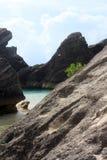 海滩小海湾ii 库存图片