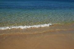 海滩小的通知 免版税库存图片