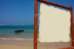 海滩小船加勒比哥伦比亚符号tayrona 库存照片