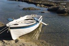 海滩小船 图库摄影