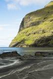 海滩山 库存图片