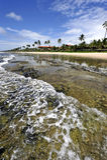 海滩巴西 免版税库存照片