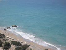 海滩希腊kos 免版税库存照片