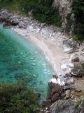 海滩希腊pelion 库存照片