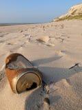 海滩废弃物 免版税图库摄影