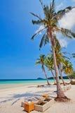 海滩异乎寻常热带 免版税图库摄影