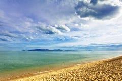 海滩异乎寻常热带 库存图片
