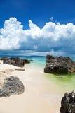 海滩异乎寻常的boracay 库存图片