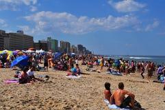 海滩弗吉尼亚 免版税库存照片