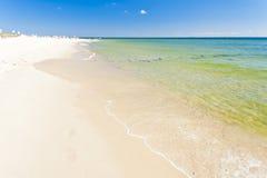 海滩恶劣环境测井半岛 免版税库存照片