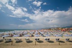 海滩意大利 免版税图库摄影