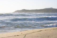海滩意大利majore里纳撒丁岛 库存照片