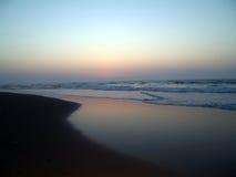 海滩我sopelana 免版税库存图片