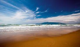 海滩托斯卡纳 库存照片