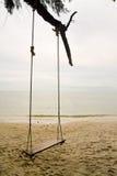 海滩摇摆 库存照片