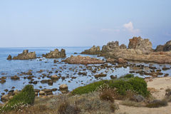 海滩撒丁岛 库存图片