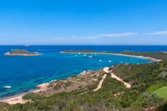 海滩撒丁岛 免版税库存照片