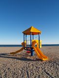 海滩操场 库存照片
