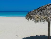 海滩放松 库存照片