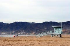 海滩救生员立场 库存照片