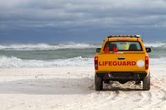 海滩救生员通信工具 免版税图库摄影
