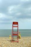 海滩救生员 免版税库存照片