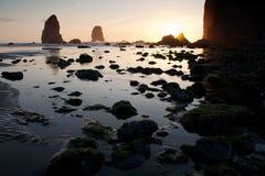 海滩教规 免版税库存图片