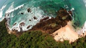 海滩斯里兰卡 图库摄影