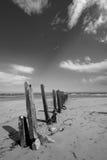 海滩新堡 免版税图库摄影