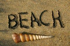海滩方式 免版税图库摄影