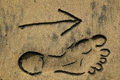海滩方式 免版税库存照片