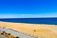 海滩日出弗吉尼亚 库存照片