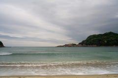海滩日语 免版税库存图片