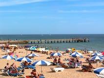 海滩日 免版税图库摄影