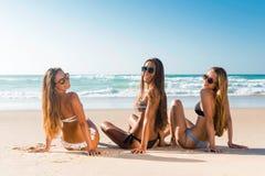 海滩日 免版税库存图片