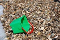 海滩时段儿童塑料s 库存照片