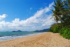 海滩昆士兰 免版税库存照片