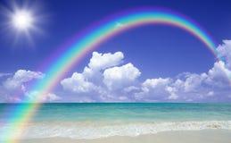 海滩星期日 库存照片
