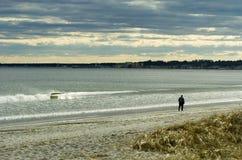 海滩春天 免版税库存图片