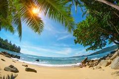 海滩普吉岛 泰国 免版税库存照片