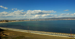 海滩晴朗的保加利亚 免版税库存图片