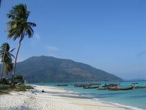 海滩村庄 图库摄影