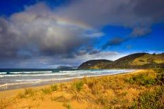 海滩极大的最近的海洋路 免版税库存图片