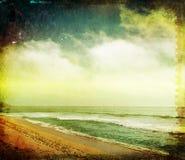 海滩样式纹理 免版税库存图片