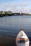 海滩桥梁马德拉岛 免版税图库摄影